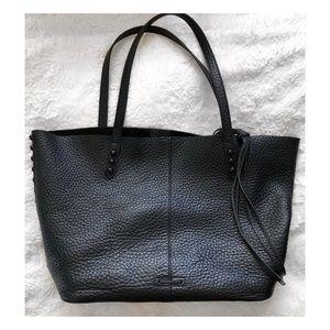 REBECCA MINKOFF unlined whipstitch Shoulder Bag